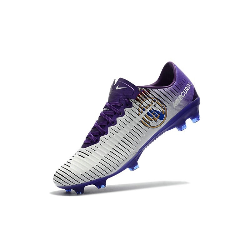 818b36463838 Nike Mercurial Vapor XI FG ACC Real Madrid White Purple Maximize. Previous.  Next