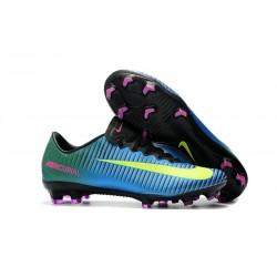 Nike Mercurial Vapor XI FG ACC News Soccer Boots Blue Yellow