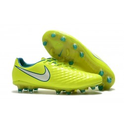 New 2017 Nike Magista Opus II FG ACC Soccer Boots Volt White