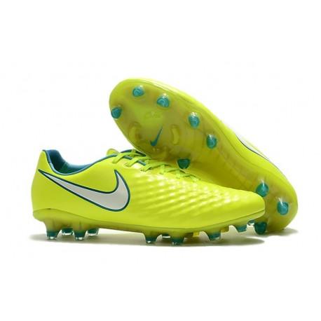New 2017 Nike Magista Opus II FG ACC Soccer Boots Volt White