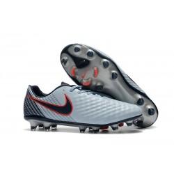New 2017 Nike Magista Opus II FG ACC Soccer Boots Grey Black