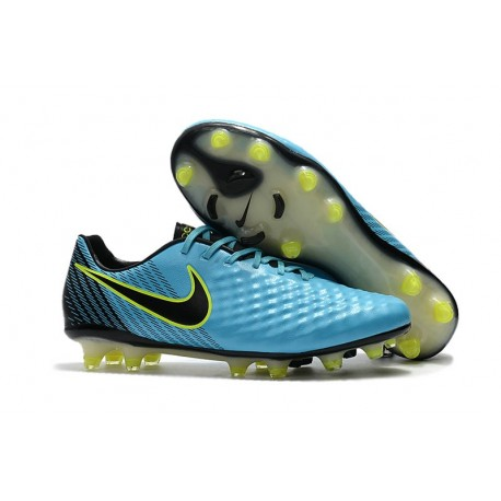 New 2017 Nike Magista Opus II FG ACC Soccer Boots Blue Black
