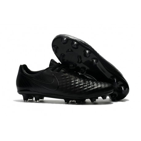 New 2017 Nike Magista Opus II FG ACC Soccer Boots Full Black