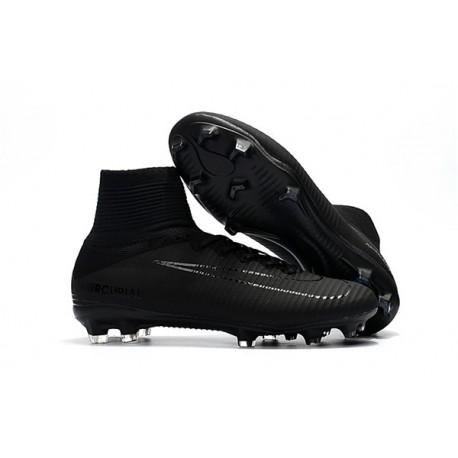 wholesale dealer 60542 a525c Nike Mercurial Superfly V DF FG Cleat - Full Black