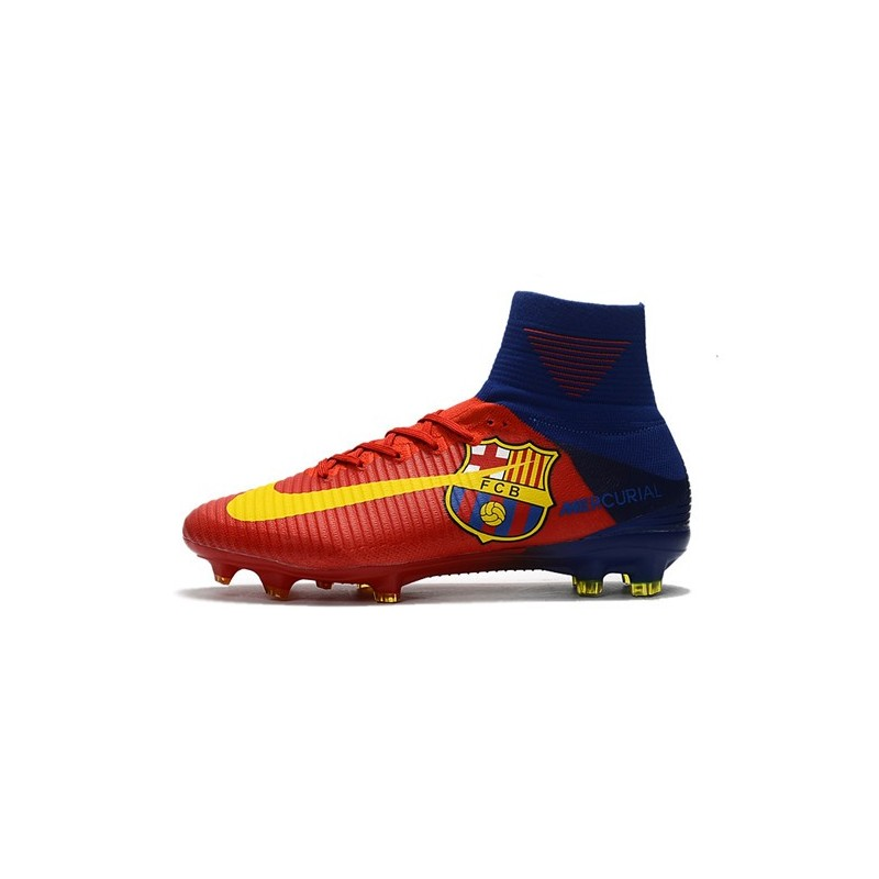 a13fb32b73bf6 Nike Mercurial Superfly V DF FG Cleat - Barcelona Red Maximize. Previous.  Next