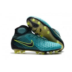 Nike Magista Obra 2 FG Firm Ground Football Cleats Blue Black