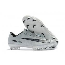 Nike Mercurial Vapor XI FG ACC News Cr7 Soccer Boots White Black