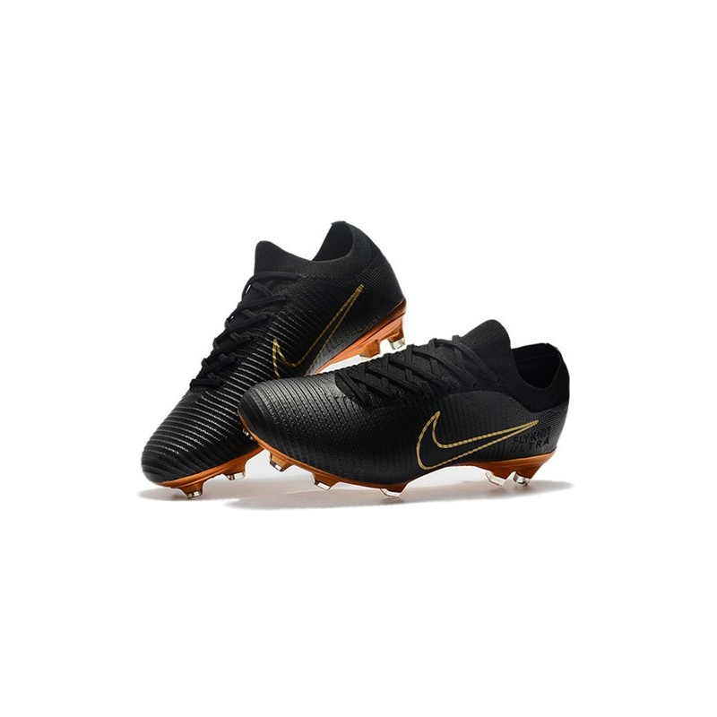 198c2ffe831 Nike Mercurial Vapor Flyknit Ultra FG ACC Soccer Cleat - Black Gold  Maximize. Previous. Next