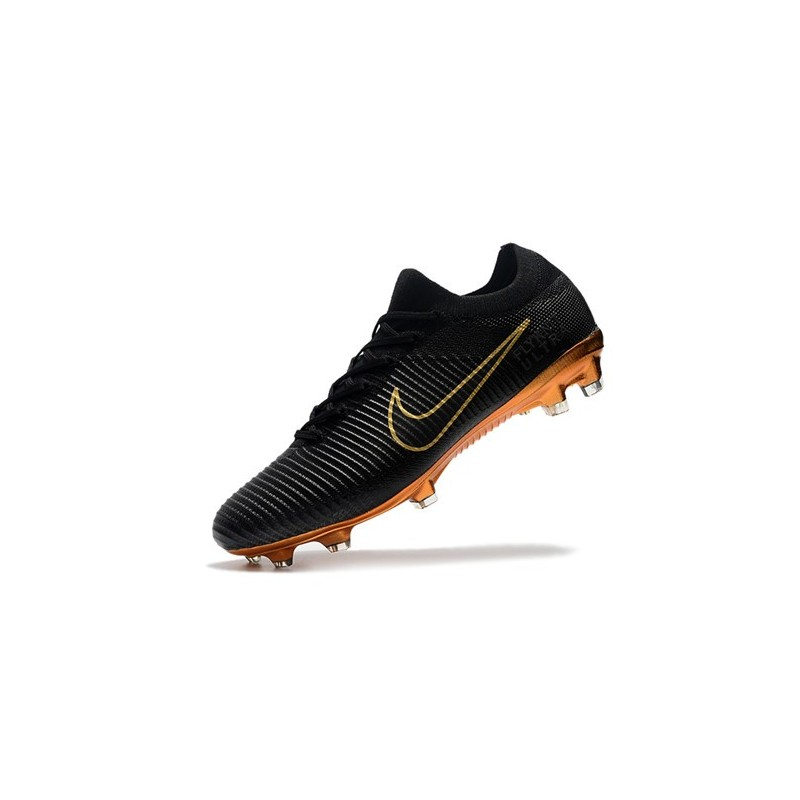 02e2db0c32af Nike Mercurial Vapor Flyknit Ultra FG ACC Soccer Cleat - Black Gold  Maximize. Previous. Next