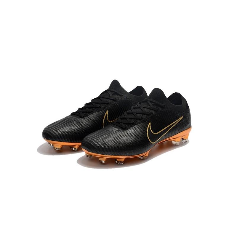 b805ac6a8d35 Nike Mercurial Vapor Flyknit Ultra FG ACC Soccer Cleat - Black Gold  Maximize. Previous. Next