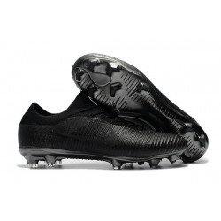 Nike Mercurial Vapor Flyknit Ultra FG ACC Soccer Cleat - Full Black
