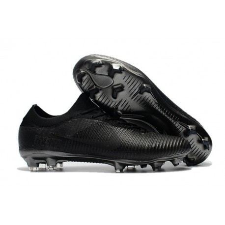 Nike Mercurial Vapor Flyknit Ultra FG ACC Soccer Cleat - Full Black