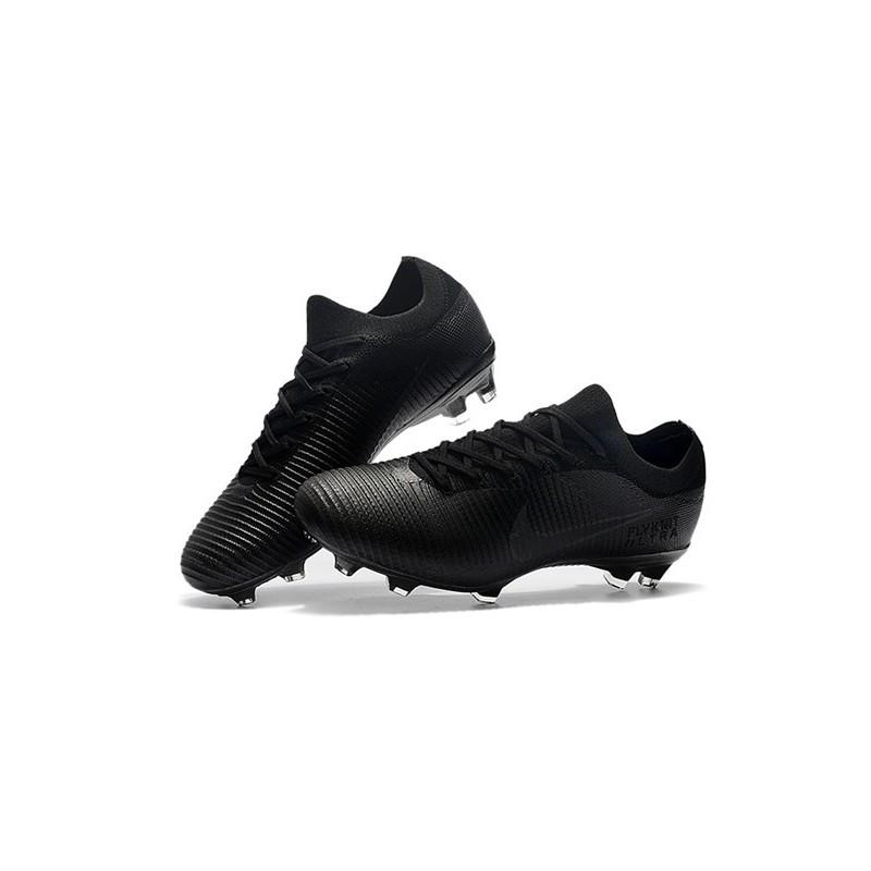 7d384b4af64c Nike Mercurial Vapor Flyknit Ultra FG ACC Soccer Cleat - Full Black Maximize.  Previous. Next