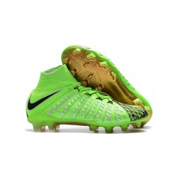 Nike Hypervenom Phantom III DF FG Cleats Green Black
