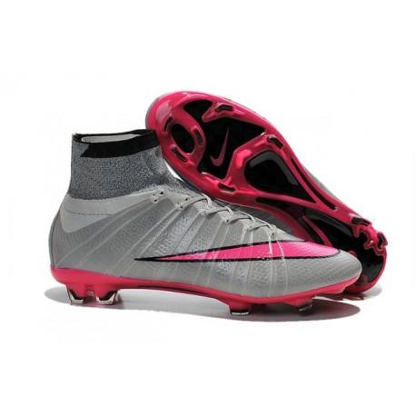 Nike Mercurial Superfly FG CR7 Ronaldo Football Boot Wolf Grey Hyper Pink