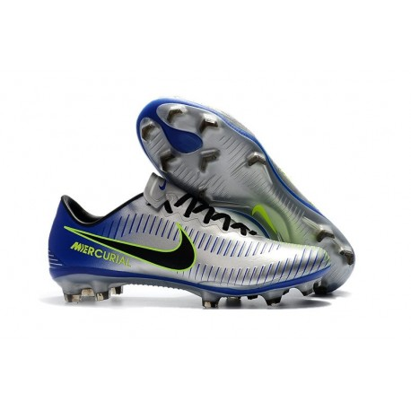 Nike Mercurial Vapor XI FG ACC News Soccer Boots Silver Black