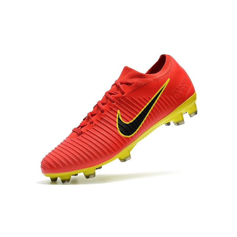 separation shoes ba65c 2174e Nike Mercurial Vapor Flyknit Ultra FG ACC Soccer Cleat - Red