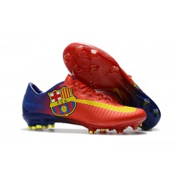 Nike Mercurial Vapor 11 FG Barcelona Red Football Cleats