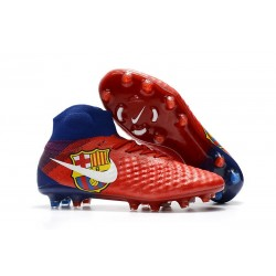 Nike Magista Obra 2 FG Firm Ground Football Cleats FC Barcelona