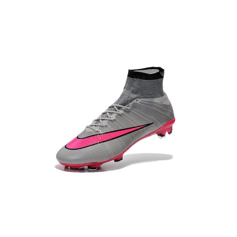 reputable site f341c 50a02 Nike Mercurial Superfly FG CR7 Ronaldo Football Boot Wolf Grey Hyper Pink