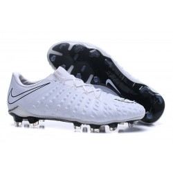New Nike Hypervenom Phantom III FG Football Boots All White