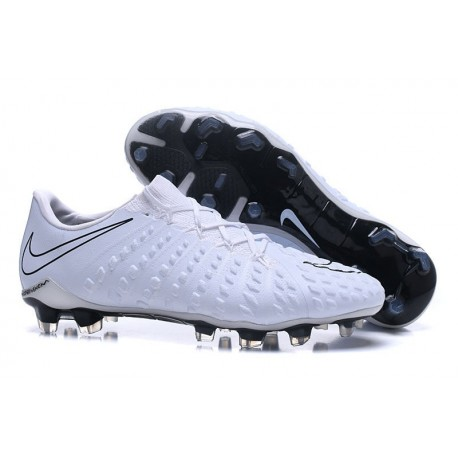 d8671f178 New Nike Hypervenom Phantom III FG Football Boots All White