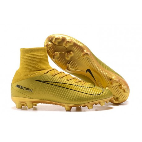 Nike Mercurial Superfly 5 FG ACC Dynamic Fit Boot - CR7 Gold