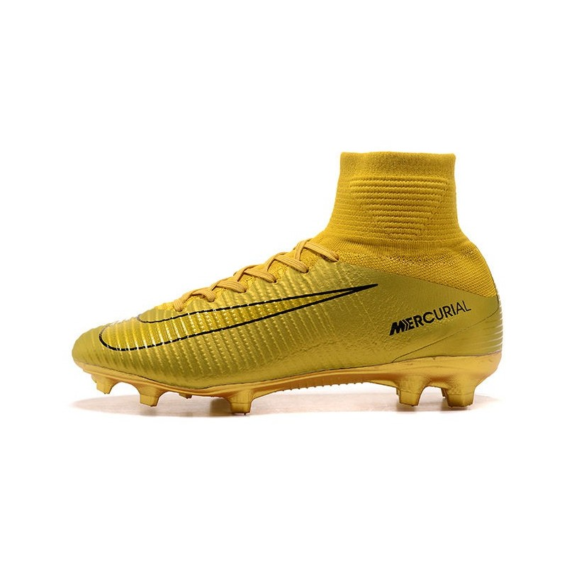 size 40 56c3e 0d54a Nike Mercurial Superfly 5 FG ACC Dynamic Fit Boot - CR7 Gold