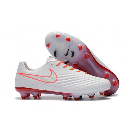 New 2017 Nike Magista Opus II FG ACC Soccer Boots White Orange