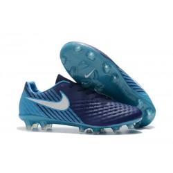 New 2017 Nike Magista Opus II FG ACC Soccer Boots Dark Blue