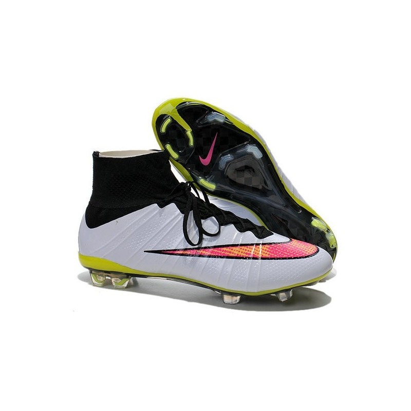 brand new c3292 66ce7 Nike Mercurial Superfly IV FG Mens Football Shoes White Rose