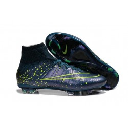 Nike Mercurial Superfly FG CR7 Ronaldo Football Boot Squadron Blue Black Volt