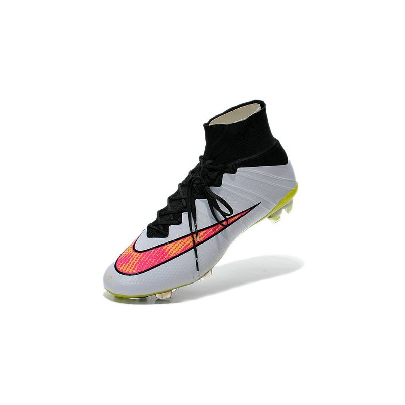 brand new a4338 af9b0 Nike Mercurial Superfly IV FG Mens Football Shoes White Rose