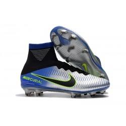 Nike Mercurial Superfly 5 FG ACC Dynamic Fit Boot - Neymar Chrome Blue