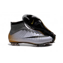 Nike Mercurial Superfly CR7 324K Gold Grey Black Orange