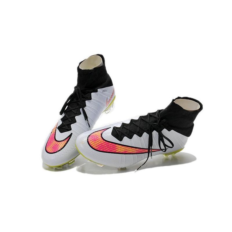 brand new 8349c 19c39 Nike Mercurial Superfly IV FG Mens Football Shoes White Rose