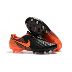 Nike Magista Opus 2 FG Football Cleats - Black Orange