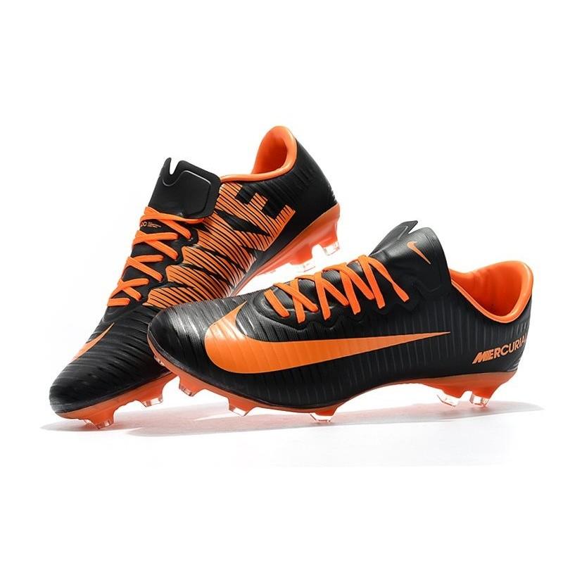 sale retailer 3e473 48c64 New Nike Mercurial Vapor XI FG Soccer Boots Black Orange