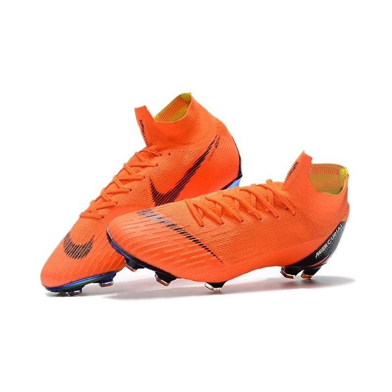 b4b8d2fbcd4 Nike Mercurial Superfly 6 Elite FG Soccer Cleats Total Orange Black  Maximize. Previous. Next