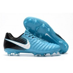 Nike News Tiempo Legend 7 FG Men Football Boot - Blue Black
