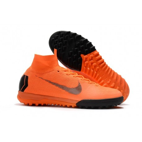 f420d6069d55 Nike MercurialX Superfly 360 Elite TF Turf Soccer Shoe Orange Black