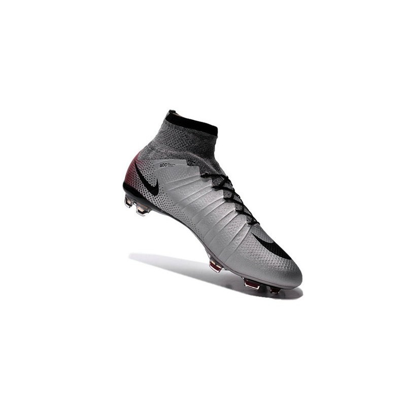 ... reduced top 2016 nike mercurial superfly fg soccer shoes mercurial  superfly cr7 quinhentos grey black red 7a9c27b0a