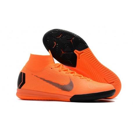 Nike Mercurial SuperflyX VI Elite IC Indoor Futsal - Orange Black
