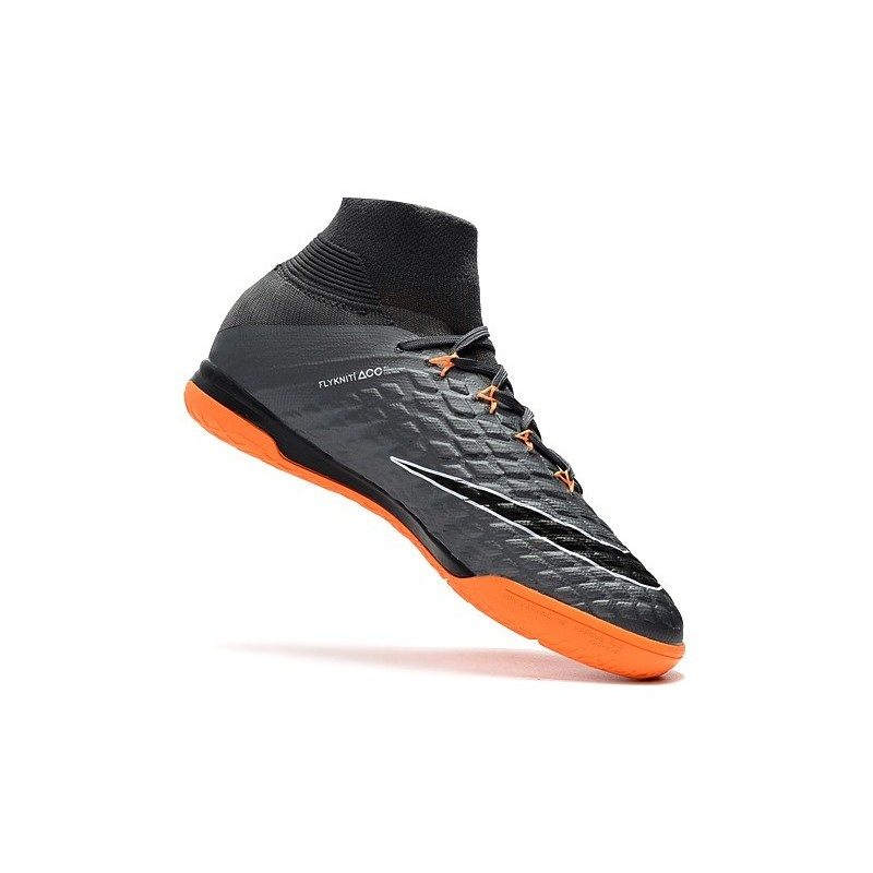 new product ab7cd 0f04e Nike HypervenomX Proximo II DF IC Soccer Shoes - Wolf Grey Orange Maximize.  Previous. Next