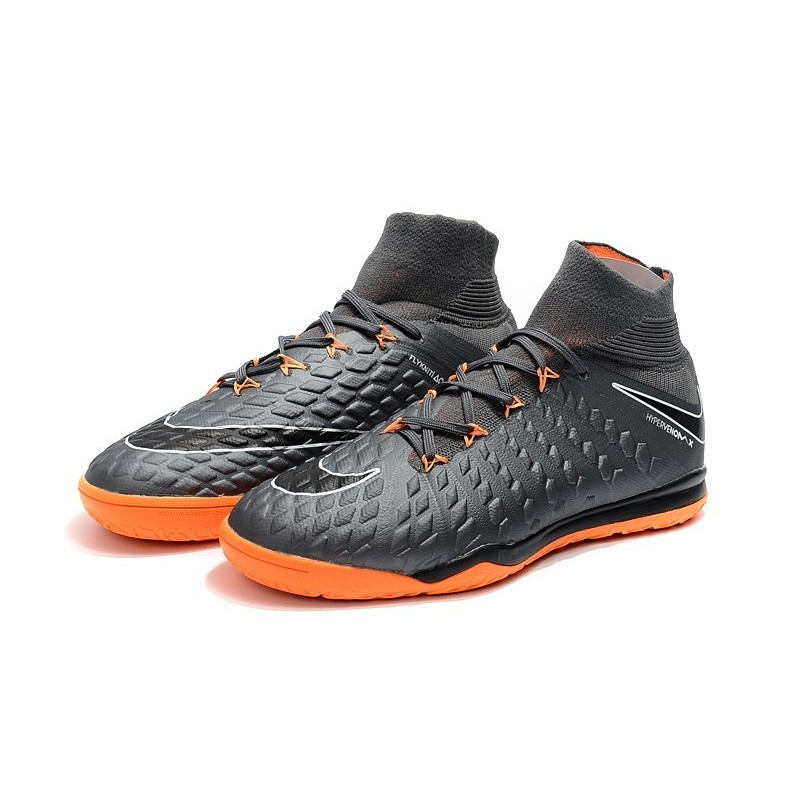 3a3bc641942 Nike HypervenomX Proximo II DF IC Soccer Shoes - Wolf Grey Orange Maximize.  Previous. Next