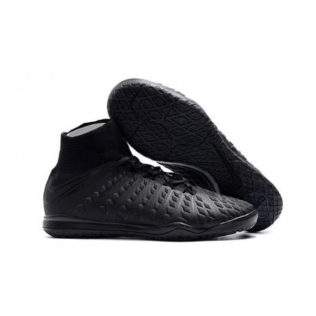 Nike HypervenomX Proximo II DF IC Soccer Shoes - Black