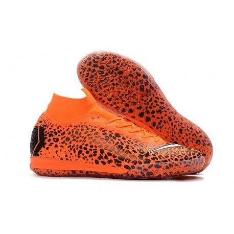 Ronaldo Nike Mercurial SuperflyX VI Elite IC Indoor Futsal - Safari Orange