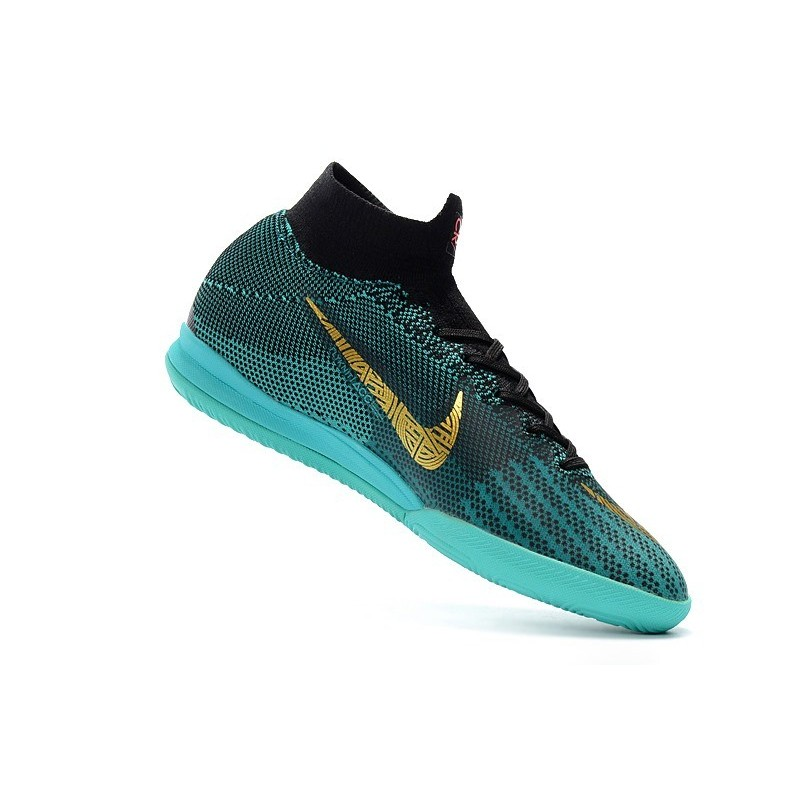competitive price 53c72 64461 Ronaldo Nike Mercurial SuperflyX VI Elite IC Indoor Futsal - Blue Gold  Maximize. Previous. Next
