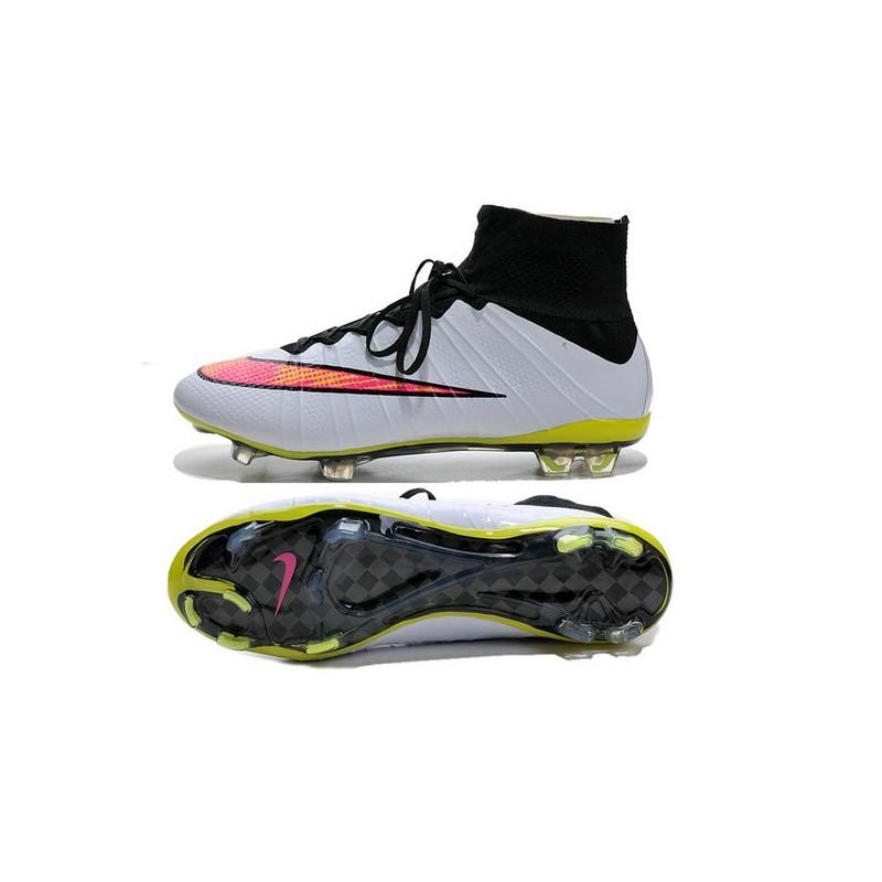tout neuf 47e84 a0153 Nike Mercurial Superfly IV FG Mens Football Shoes White Rose