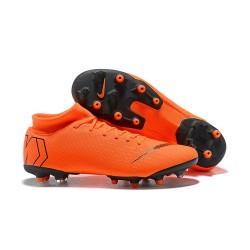 Nike Mercurial Superfly 6 Elite AG-Pro Soccer Cleats Orange Black